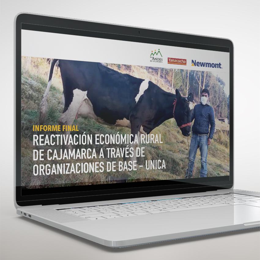 Asociación Los Andes de Cajamarca. Presentación digital FCS.