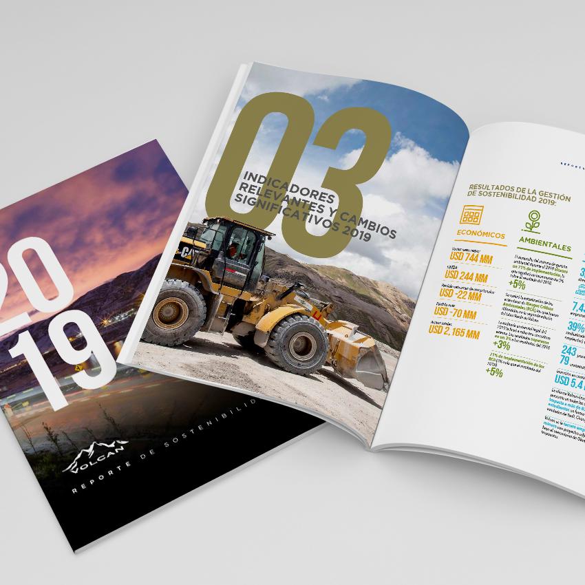 Volcan. Reporte de sostenibilidad 2019